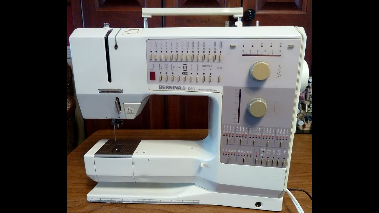 Repair A Bernina 40 That Is Skipping Stitches YouTube Interesting Sewing Machine Won T Stitch