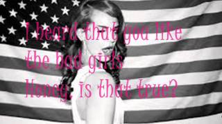 Lana Del Rey - Video Games + Lyrics