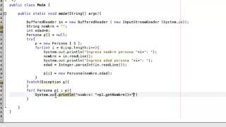 Tutorial 19 Java - Vector de Objetos y ArrayList