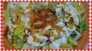 Buffalo Chicken Dinner Salad Recipe ~ Noreen's Kitchen