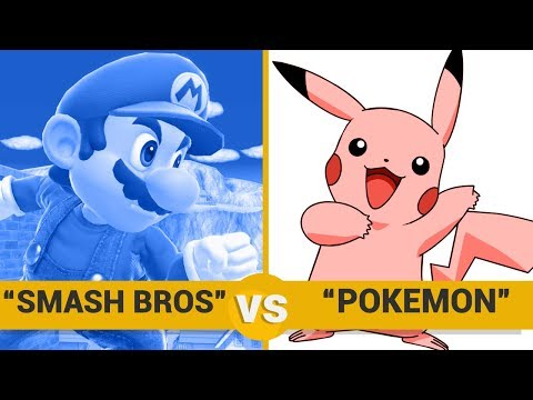 Smash Bros vs Pokemon - Google Trends Show