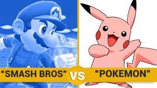 Smash Bros vs Pokemon - Google Trends Show