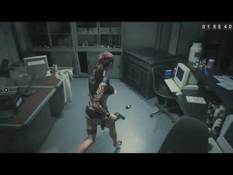 [+18]Resident evil 2 Лабораторные испытания.