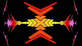 Digital waveform equalizer,Vj / DJ-Abstrakten Hintergrund ,Animierte Hintergrund, HD