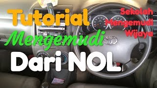 Tutorial mengemudi: Latihan dasar mengemudi mobil manual untuk pemula