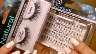 Easiest Way to Apply False Lashes!