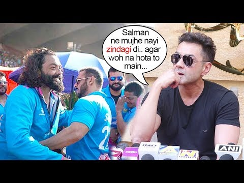 Bobby Deol gets EM0TIONAL Thanking Salman Khan again For Saving him On His 50th Birthday
