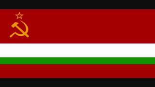 State Anthem of the Tajik SSR vocal
