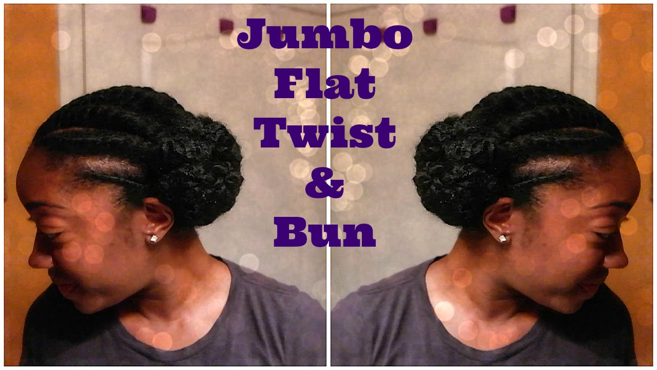 jumbo flat twist & bun protective