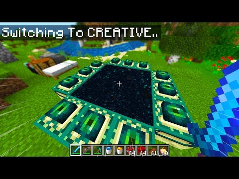 Minecraft, BUT I GET CREATIVE MODE EVERY MINUTE..