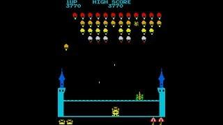 Old arcade game - King & Ballon