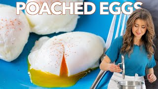 How to Make Perḟect POACHED EGGS - Cooking Basics