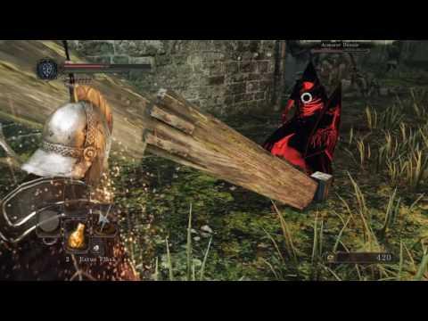 Dark Souls 2 SotFS - Armorer Dennis Cheesing (Easy low-level solo kill)