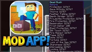 TOOLBOX APP FOR iOS - Minecraft Pocket Edition INSANE Mods Without Jailbreak (Plug Tools)