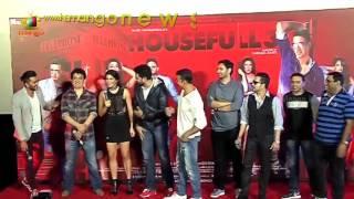 Akshay Kumar CALLS Jacqueline Fernandez BHABHI | Housefull 3 Song Launch | Mango News