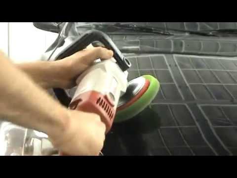 Правильная полировка авто Чёрный автомобиль.Детальный разбор.