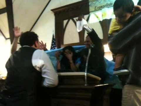 Evangelista Jaime Sanchez profetiza a los Pastores Familia en Cincinnati Ohio