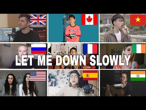 Who Sang It Better : Let Me Down Slowly(us,uk,canada,india )
