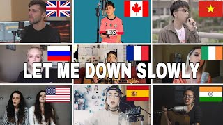 Who Sang It Better : Let Me Down Slowly(us,uk,canada,india)