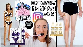I Bought EVERY Instagram Advert For A WEEK! This Is What Happened... | Sophie Louise