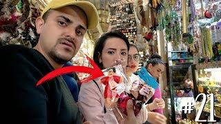 FUIMOS AL MERCADO DE LA BRUJERÍA *compramos muñeco VUDU para amarre* / #AmorEterno 21