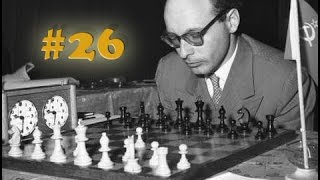 Уроки шахмат ♔ Бронштейн «Самоучитель шахматной игры» #26 ♚ Знаменитая партия Бронштейна