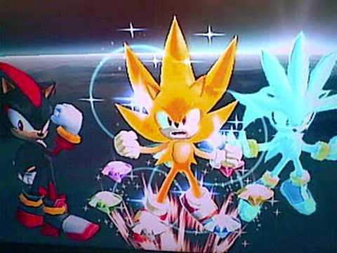 Super sonic shadow silver trophy in ssbb youtube - Super sonic 6 ...