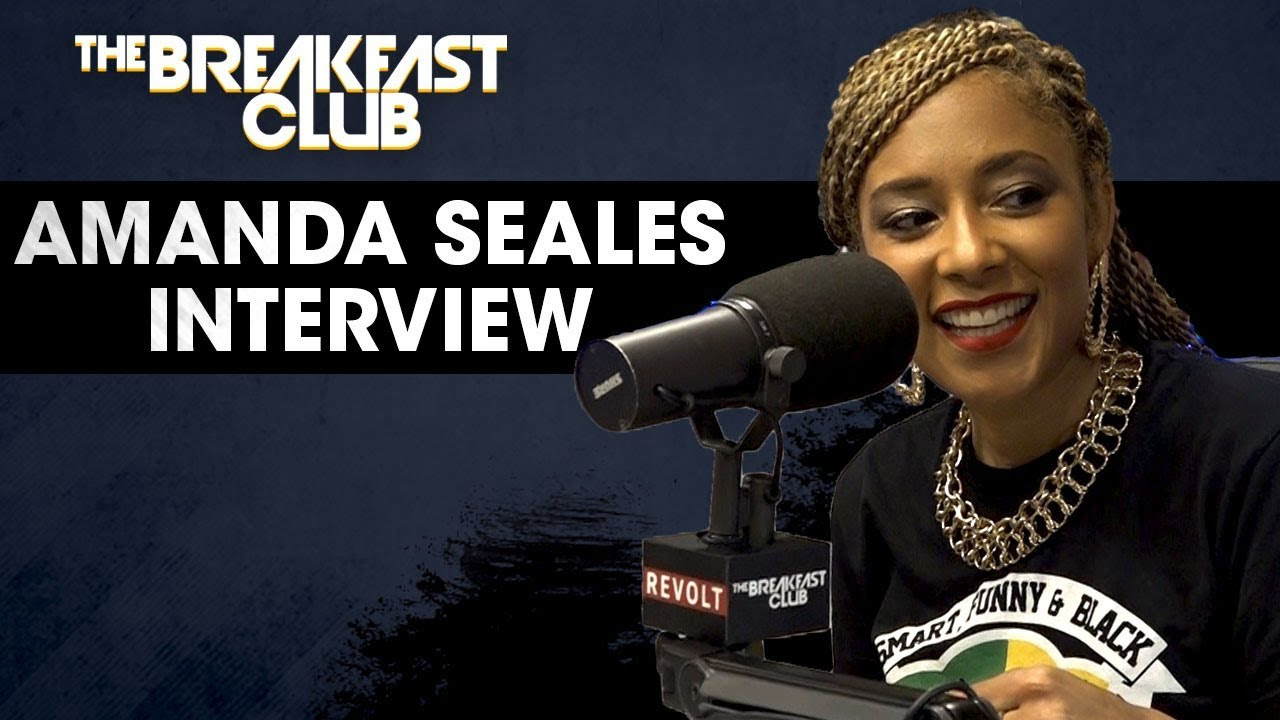 Image result for amanda seales breakfast club interview