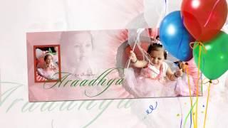 Baby Birthday Album Design (Indian)