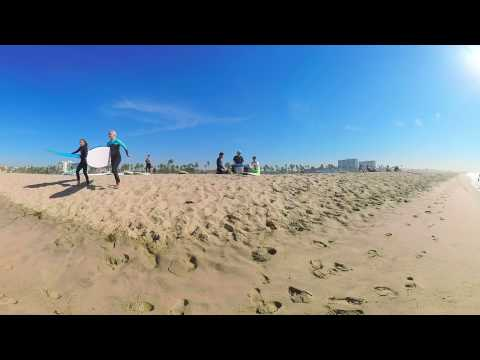 Virtual Reality: Santa Monica and the Pacific Ocean