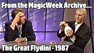 The Great Flydini (Steve Martin) - The Last Resort - October 1987 - MagicWeek.co.uk