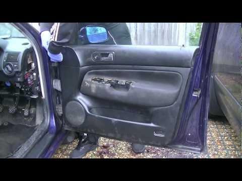 VW Golf MK4 Door Panel Removal (Simple Easy Steps)
