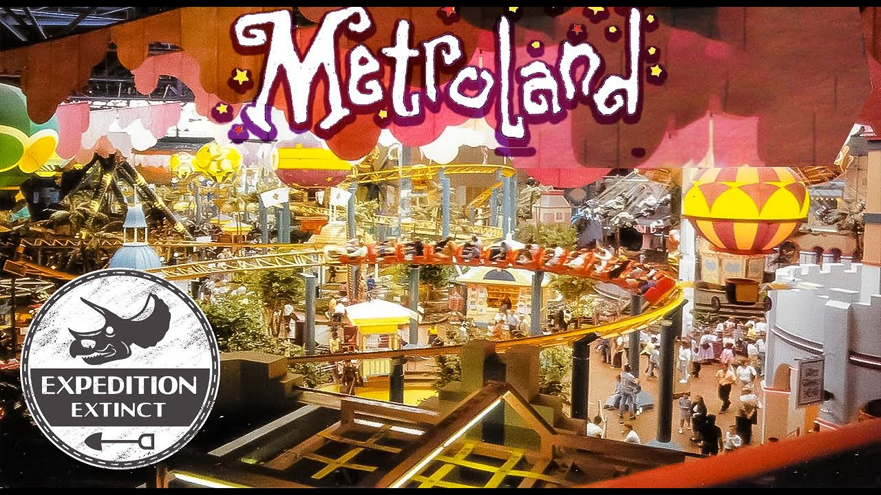 Download The History of Metroland: Europe's Extinct Largest Indoor Amusement Park - The End of Retail Leisure