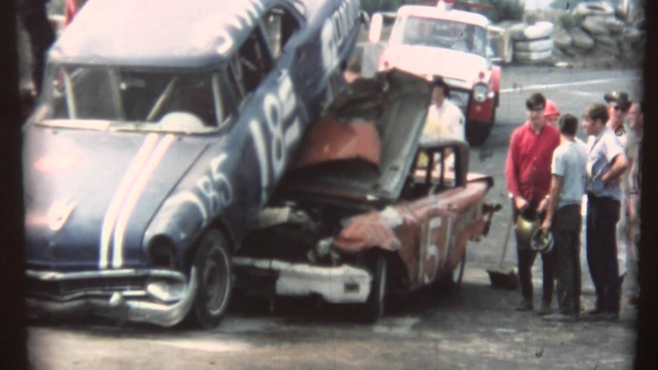 Stock Car Racing In Ny Circa 1970 Chemung Speedrome