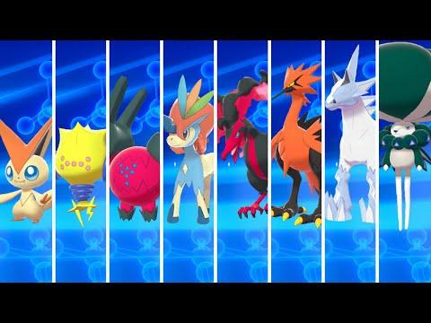 How to Get All Legendary Pokémon in Pokémon Sword & Shield: Crown Tundra