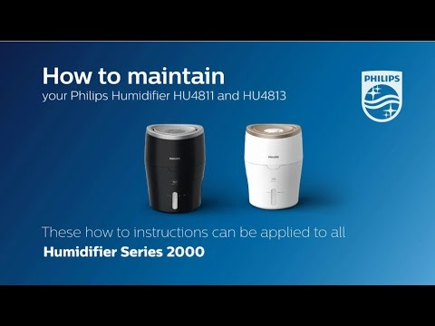 How to Maintain the Wick of Your Humidifier | Philips | Air Humidifiers