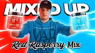 RED RASPBERRY MIX! - LevlUp Triple Red mit Blue Crush MIXEN | MIXED UP
