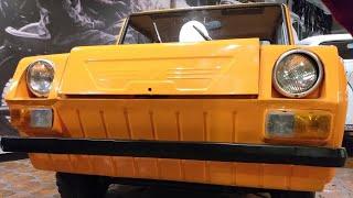 Бесплатное заднемоторное двухдверное купе для народа.  СМЗ С-3Д 1970 года