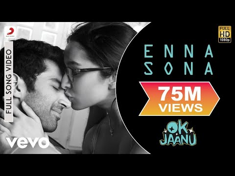 Enna Sona Song Lyrics From Ok Jaanu