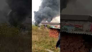 Взрыв на автозаправке в  селе Гехи