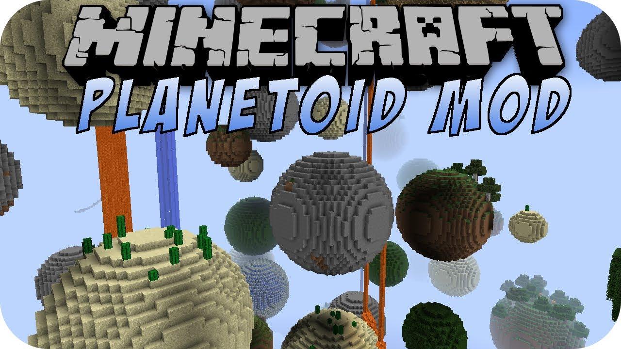 Minecraft PLANETOID MOD
