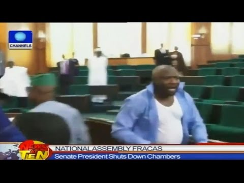 Commotion As APC Lawmakers Oppose Senate President's Visit To House