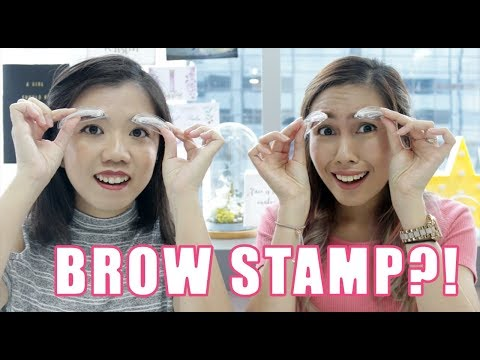 Brows in 3 seconds?! The Brow Stamp- TESTED | Daily Vanity