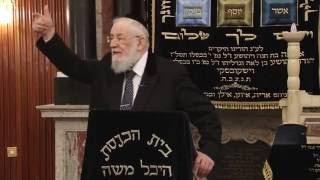 """הרב ישראל-מאיר לאו יד' תמוז התשע""""ו - 20/07/16 Rabbi Israel Meir Lau"""