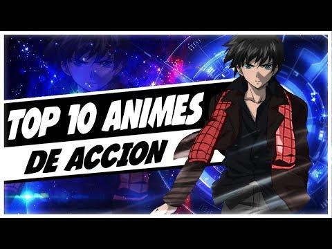 TOP 10 Animes De Acción | 💪Muy Buenos | 2018