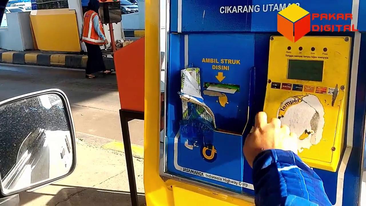 Menggunakan Bca Flazz Card Untuk Pembayaran Di Gerbang Tol Otomatis 10 Kartu Gto