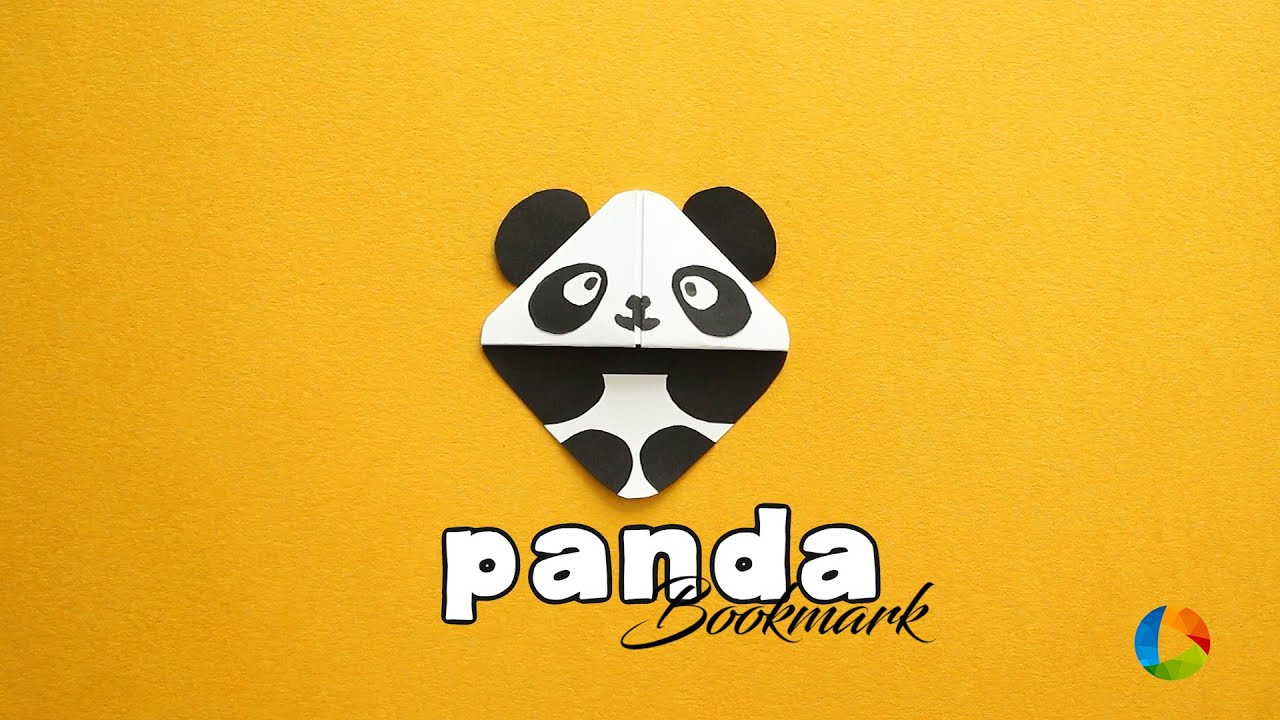 How To Make Panda Bookmark Kung Fu