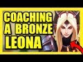 COACHING A BRONZE LEONA SUPPORT |  League of Legends Season 9
