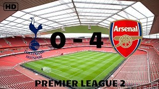 Tottenham 0-4 Arsenal | U23 Premier League
