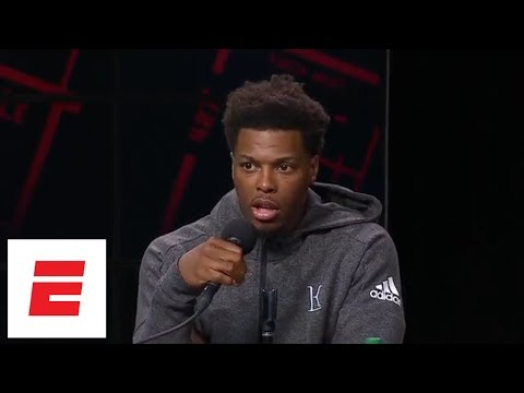 Kyle Lowry on Kawhi Leonard addition and DeMar DeRozan trade reaction | NBA Media Day | ESPN